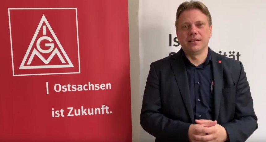 """Kommentar der IG Metall Ostsachsen: """"Gemeinsam zum Tarifvertrag an allen Standorten!"""""""