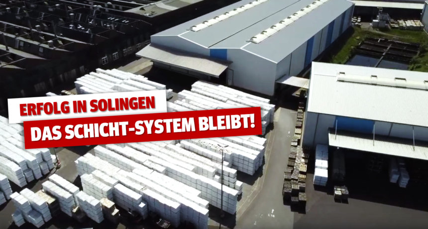 """Erfolg für die Beschäftigten: Einigungsstelle bei Borbet Solingen stellt """"Unzuständigkeit"""" fest und wird eingestellt!"""